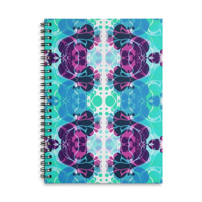 Drops Accessories Lined Spiral Notebook by xristastavrou