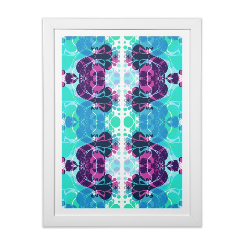 Drops Home Framed Fine Art Print by xristastavrou