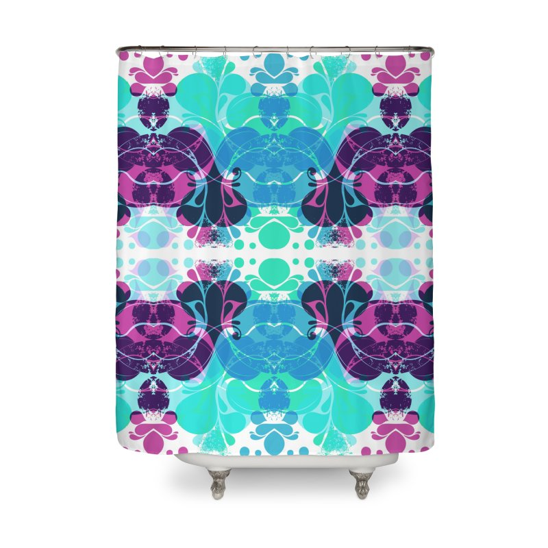 Drops Home Shower Curtain by xristastavrou