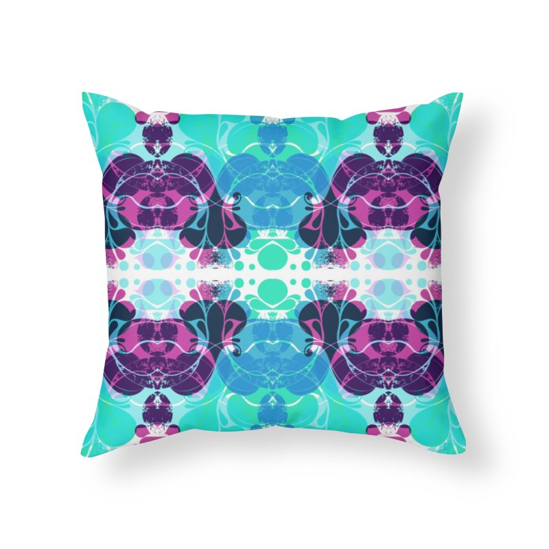 Drops Home Throw Pillow by xristastavrou
