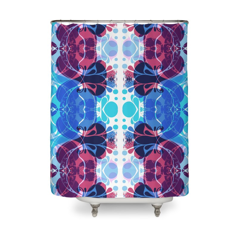 Drops V2 Home Shower Curtain by xristastavrou