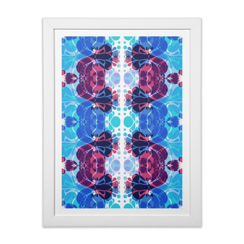 Drops V2 Home Framed Fine Art Print by xristastavrou