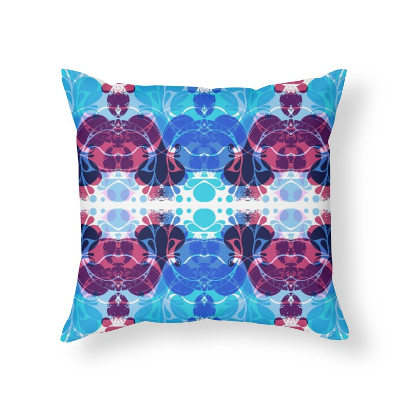 Drops V2 Home Throw Pillow by xristastavrou