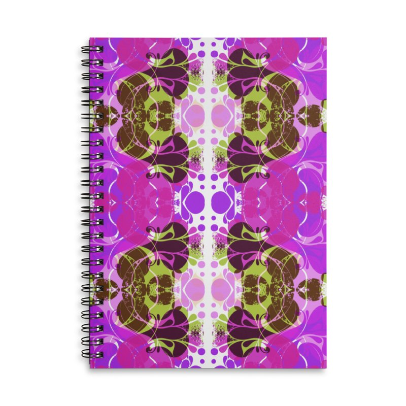 Drops V3 Accessories Lined Spiral Notebook by xristastavrou