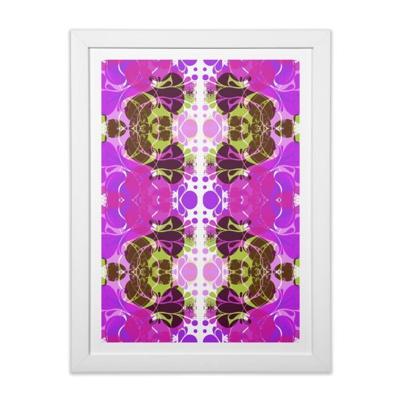 Drops V3 Home Framed Fine Art Print by xristastavrou
