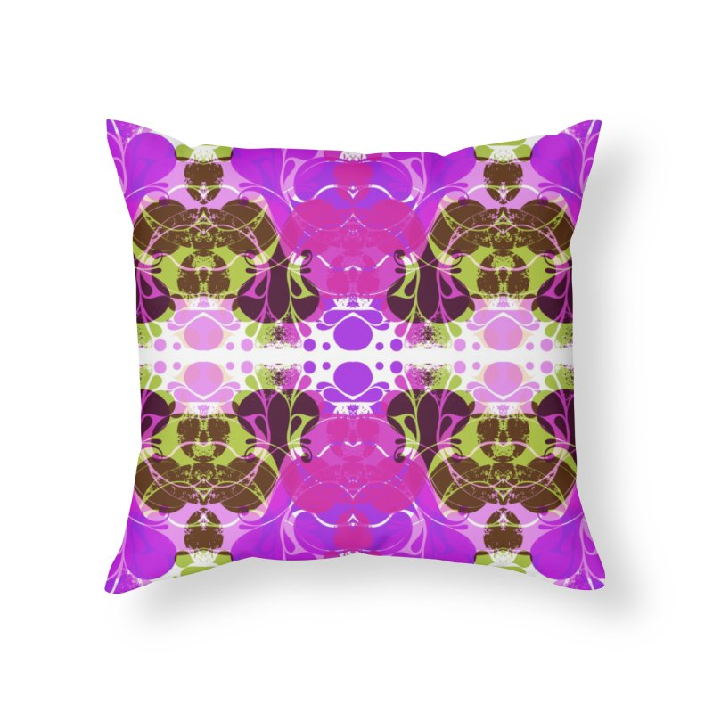 Drops V3 Home Throw Pillow by xristastavrou