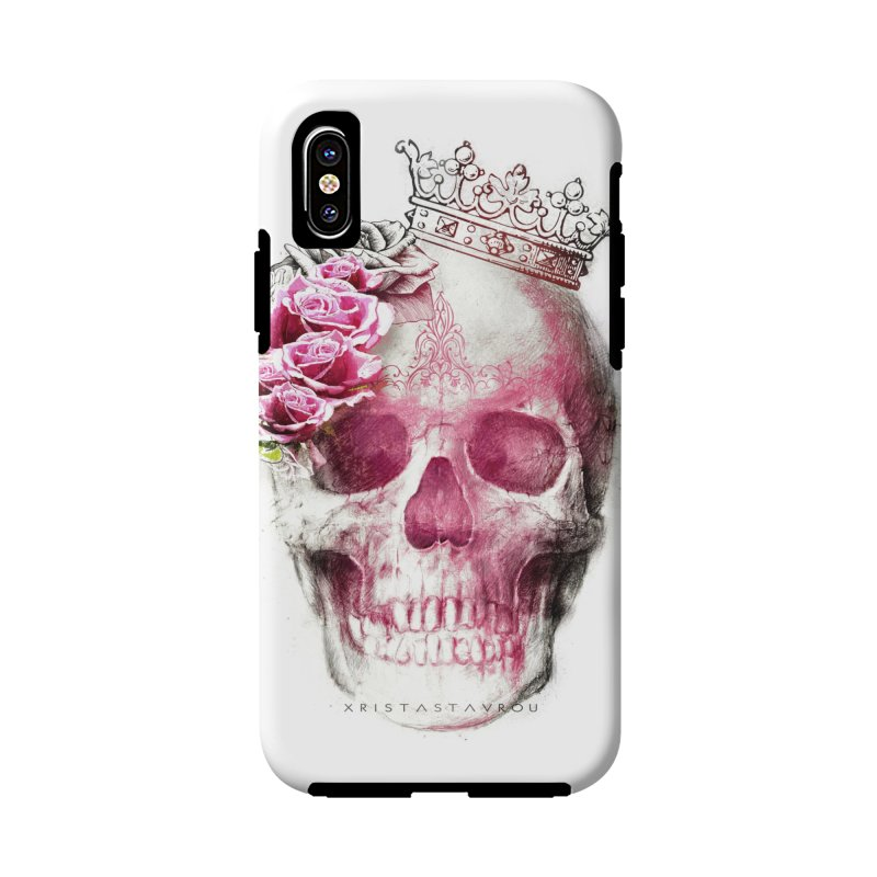 Skull Queen Accessories Phone Case by xristastavrou