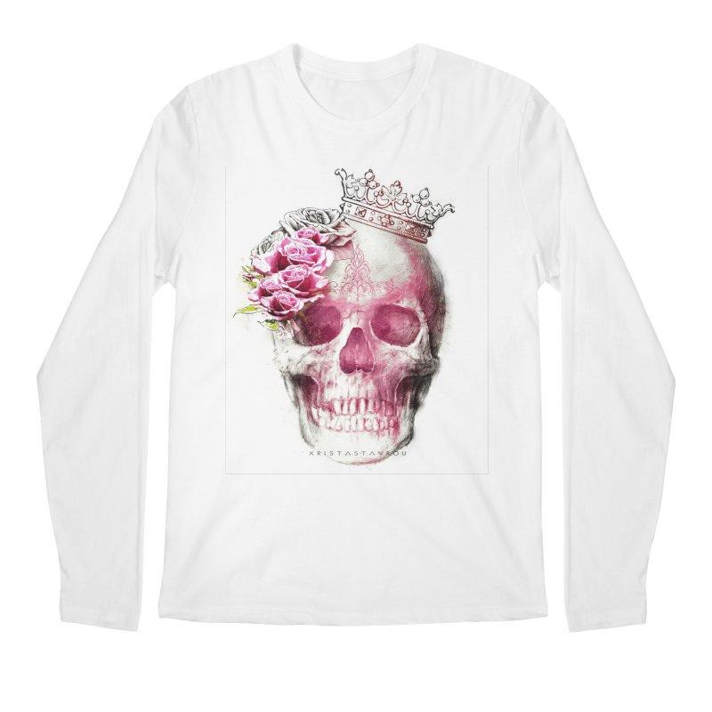 Skull Queen Men's Regular Longsleeve T-Shirt by xristastavrou