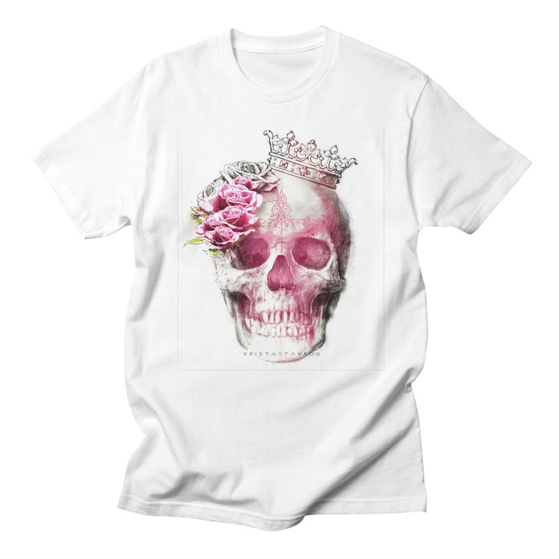 Skull Queen Women's Regular Unisex T-Shirt by xristastavrou