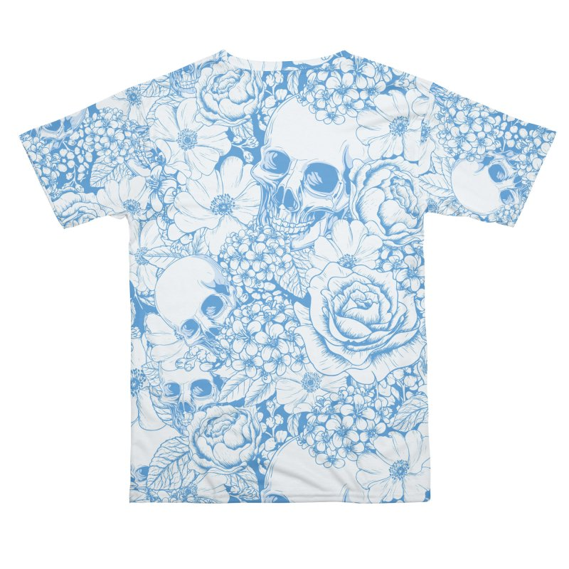Skulls Blue Men's Cut & Sew by xristastavrou