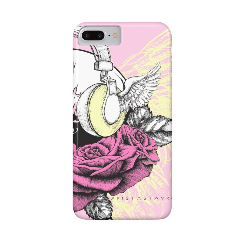 Skull Music Accessories Phone Case by xristastavrou
