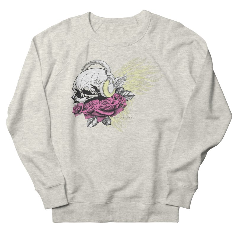 Skull Music Women's French Terry Sweatshirt by xristastavrou
