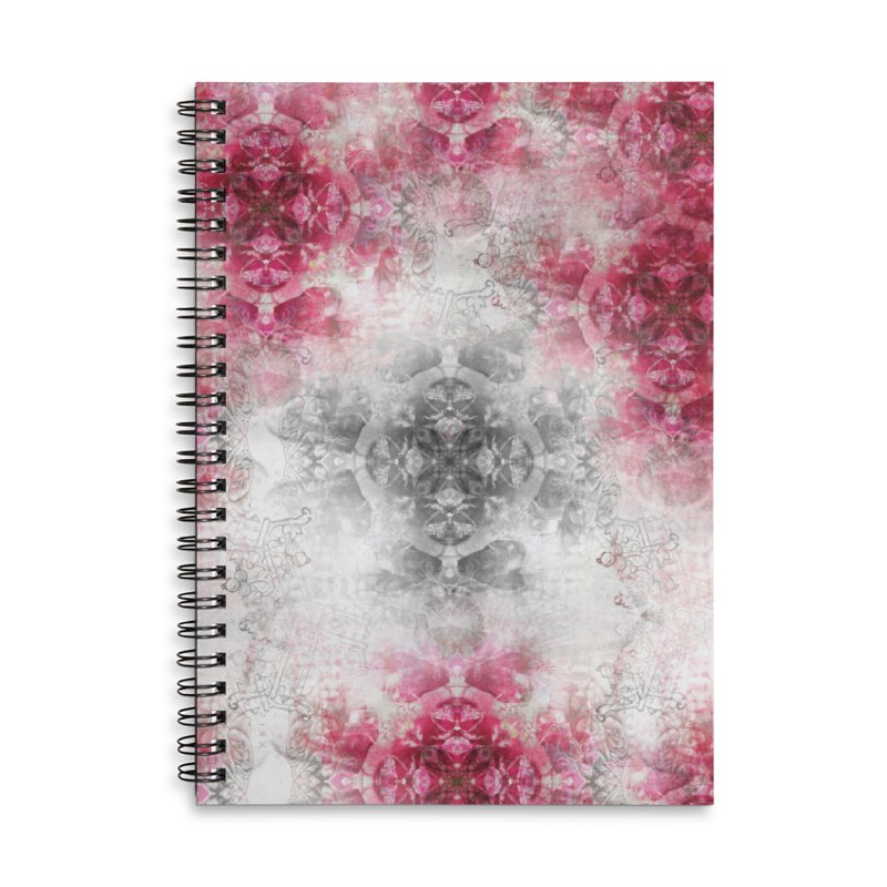 Xmas Accessories Lined Spiral Notebook by xristastavrou