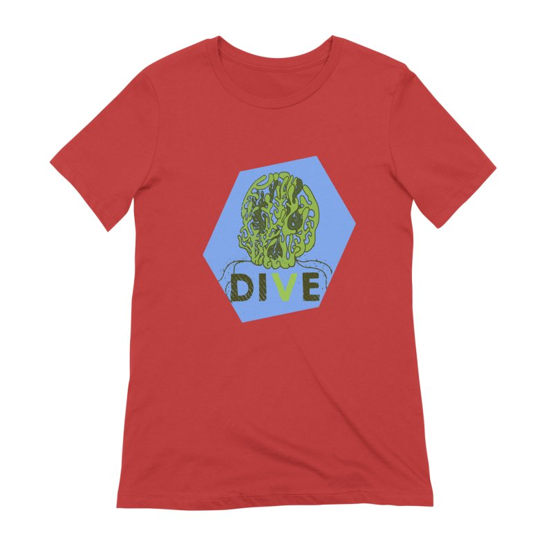Dive or Die Women's Extra Soft T-Shirt by Thirty Silver
