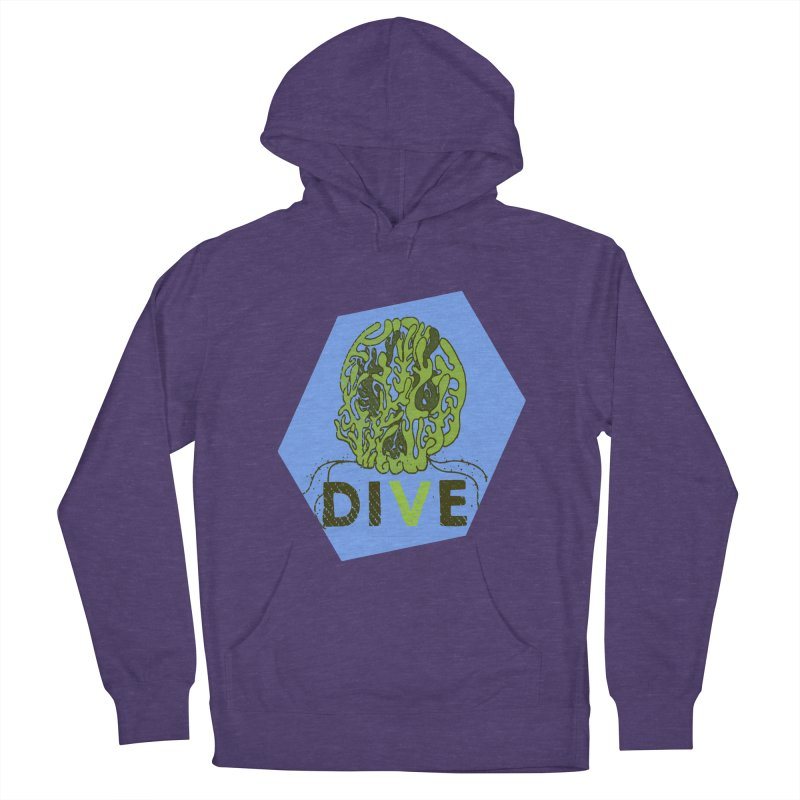 Dive or Die Women's French Terry Pullover Hoody by Thirty Silver