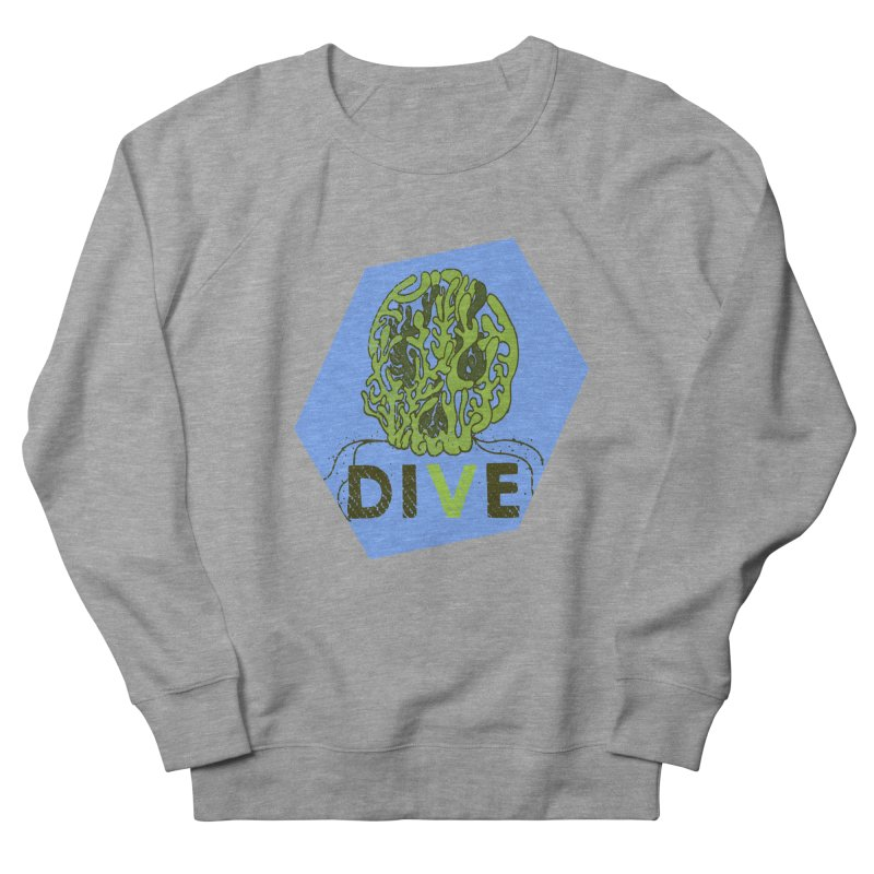 Dive or Die Women's French Terry Sweatshirt by Thirty Silver