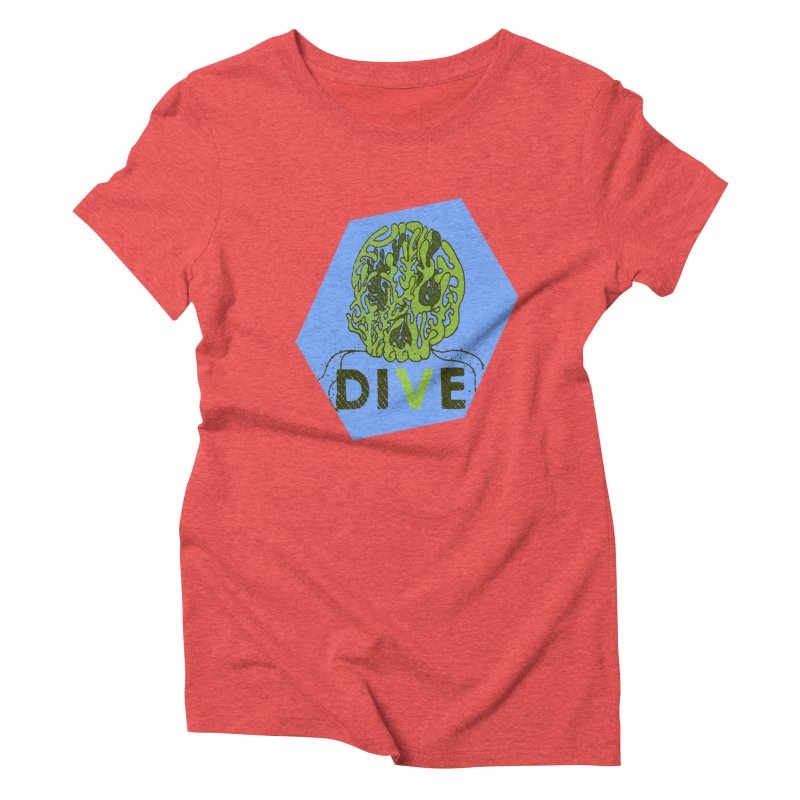 Dive or Die Women's Triblend T-Shirt by Thirty Silver