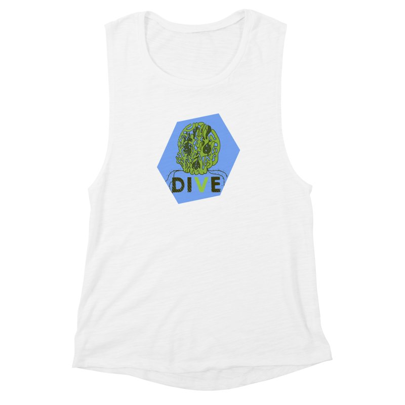 Dive or Die Women's Muscle Tank by Thirty Silver