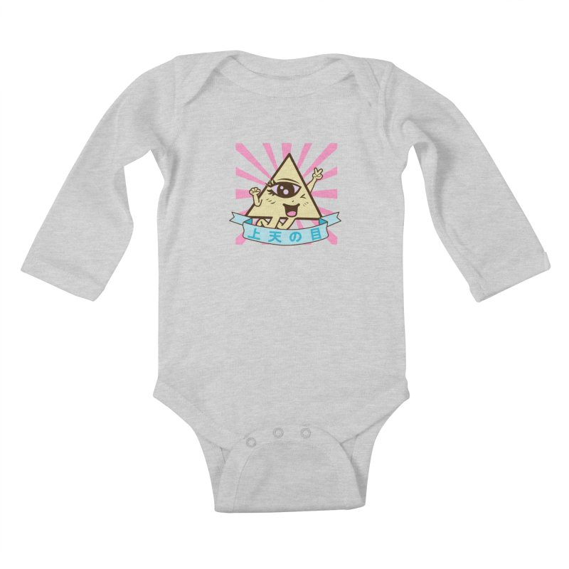 Kawaii of Providence Kids Baby Longsleeve Bodysuit by Thirty Silver