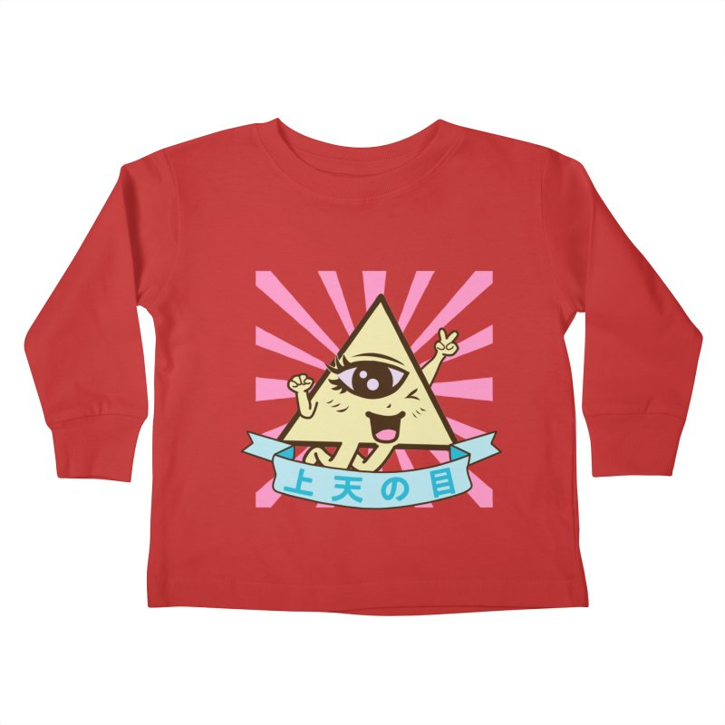 Kawaii of Providence Kids Toddler Longsleeve T-Shirt by Thirty Silver