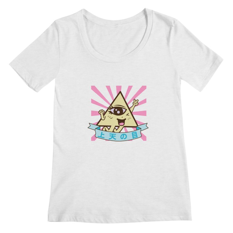 Kawaii of Providence Women's Regular Scoop Neck by Thirty Silver