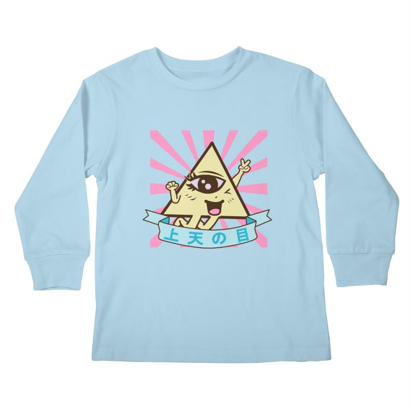Kawaii of Providence Kids Longsleeve T-Shirt by Thirty Silver