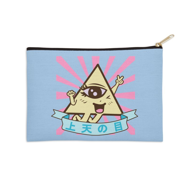 Kawaii of Providence Accessories Zip Pouch by Thirty Silver