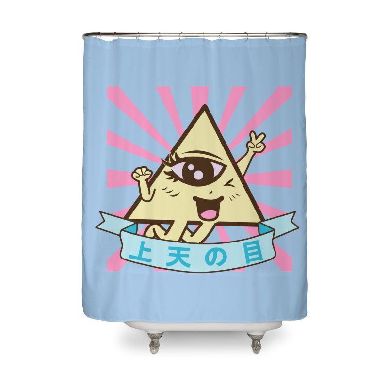 Kawaii of Providence Home Shower Curtain by Thirty Silver