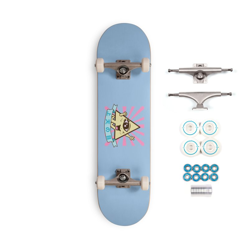 Kawaii of Providence Accessories Complete - Basic Skateboard by Thirty Silver