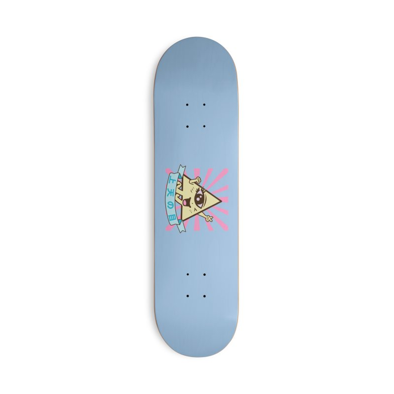 Kawaii of Providence Accessories Deck Only Skateboard by Thirty Silver