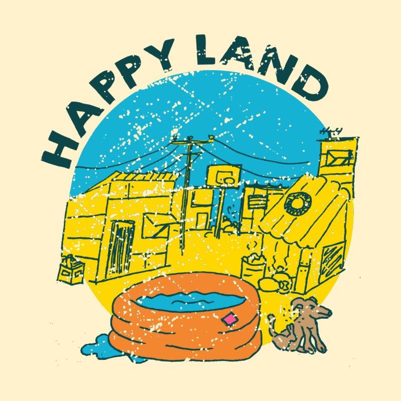 Happy Land Women's Longsleeve T-Shirt by Thirty Silver