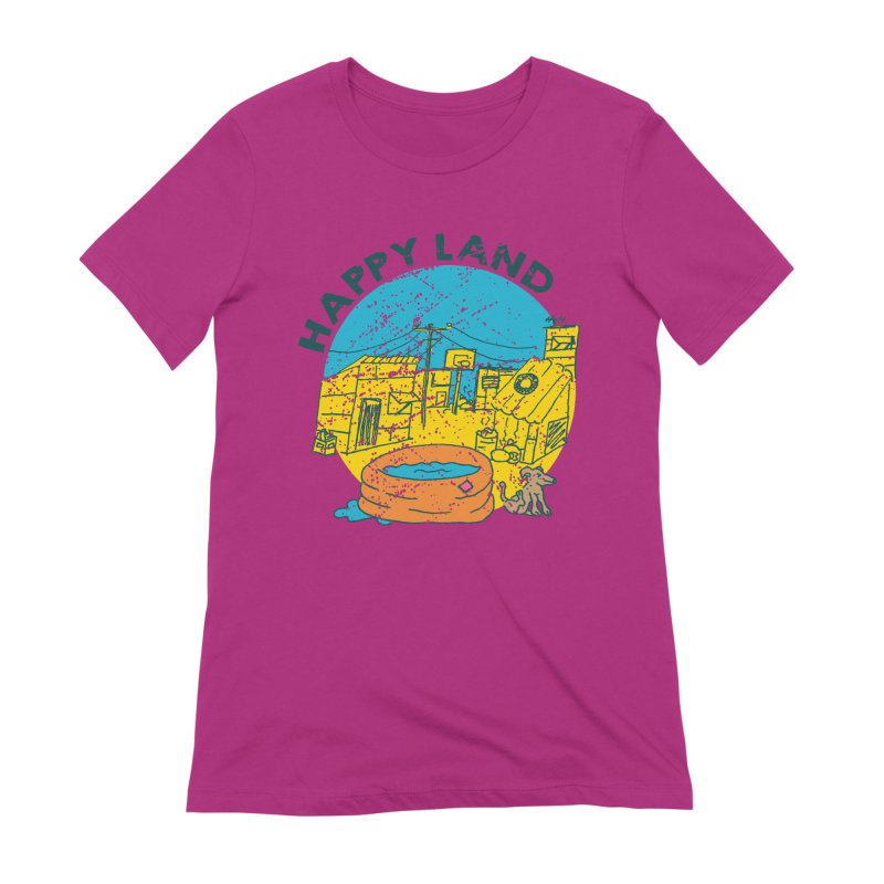 Happy Land Women's Extra Soft T-Shirt by Thirty Silver