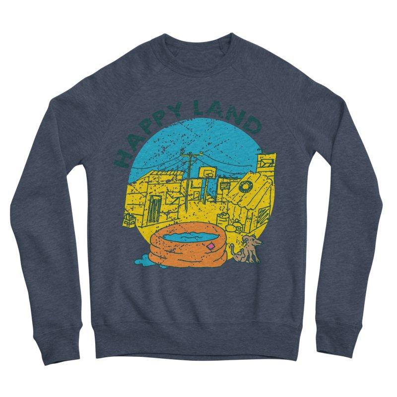Happy Land Women's Sponge Fleece Sweatshirt by Thirty Silver