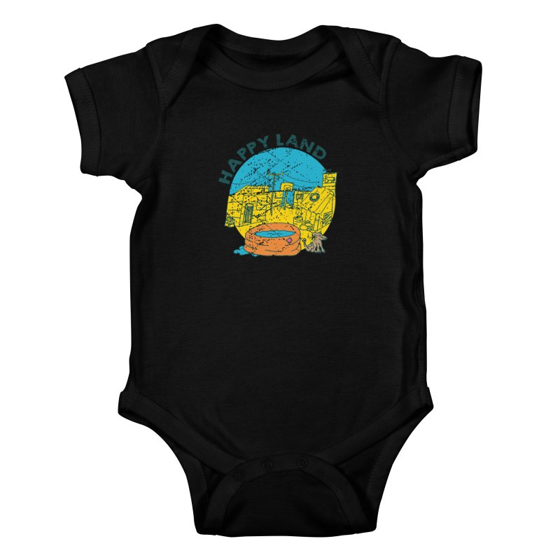 Happy Land Kids Baby Bodysuit by Thirty Silver