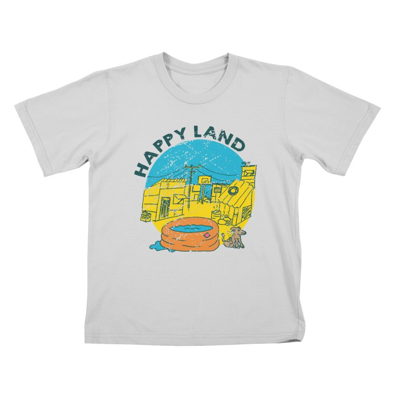 Happy Land Kids T-Shirt by Thirty Silver