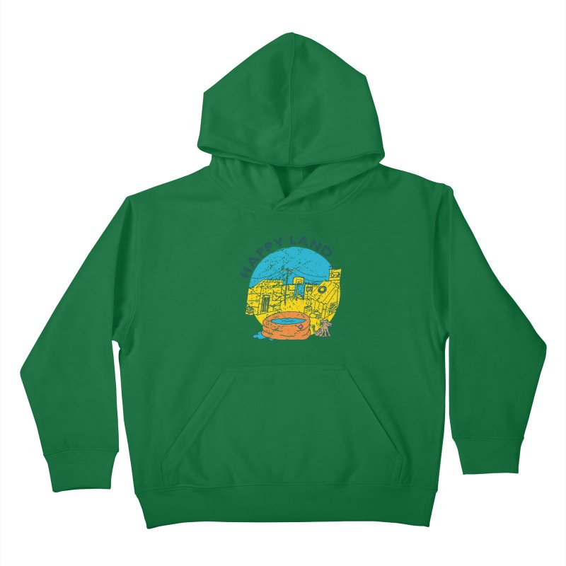 Happy Land Kids Pullover Hoody by Thirty Silver