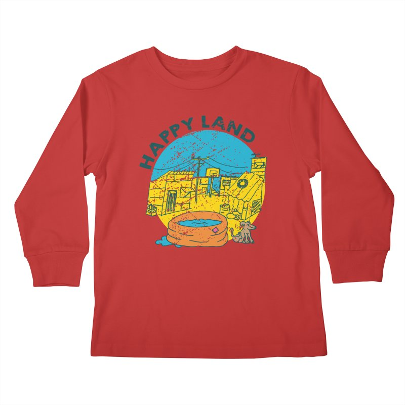 Happy Land Kids Longsleeve T-Shirt by Thirty Silver
