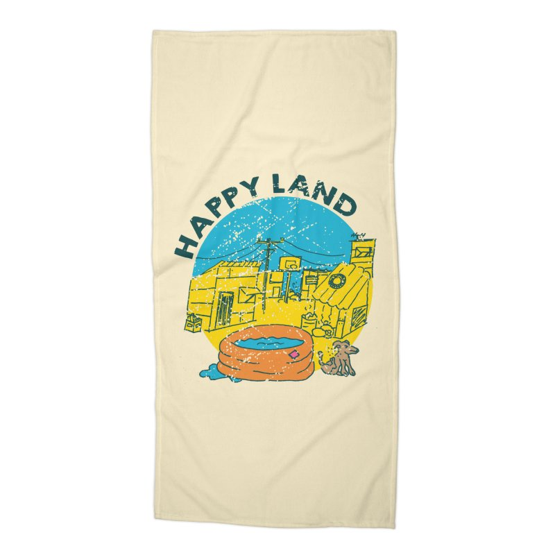 Happy Land Accessories Beach Towel by Thirty Silver