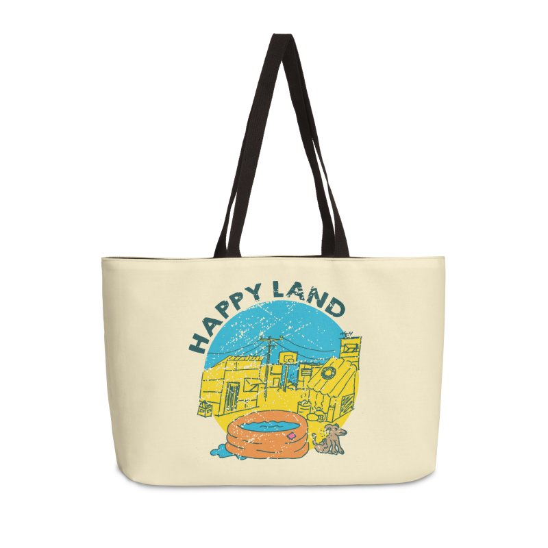 Happy Land Accessories Weekender Bag Bag by Thirty Silver