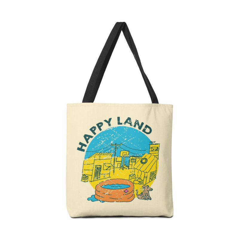 Happy Land Accessories Tote Bag Bag by Thirty Silver