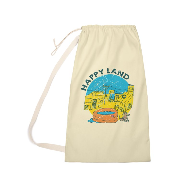 Happy Land Accessories Laundry Bag Bag by Thirty Silver