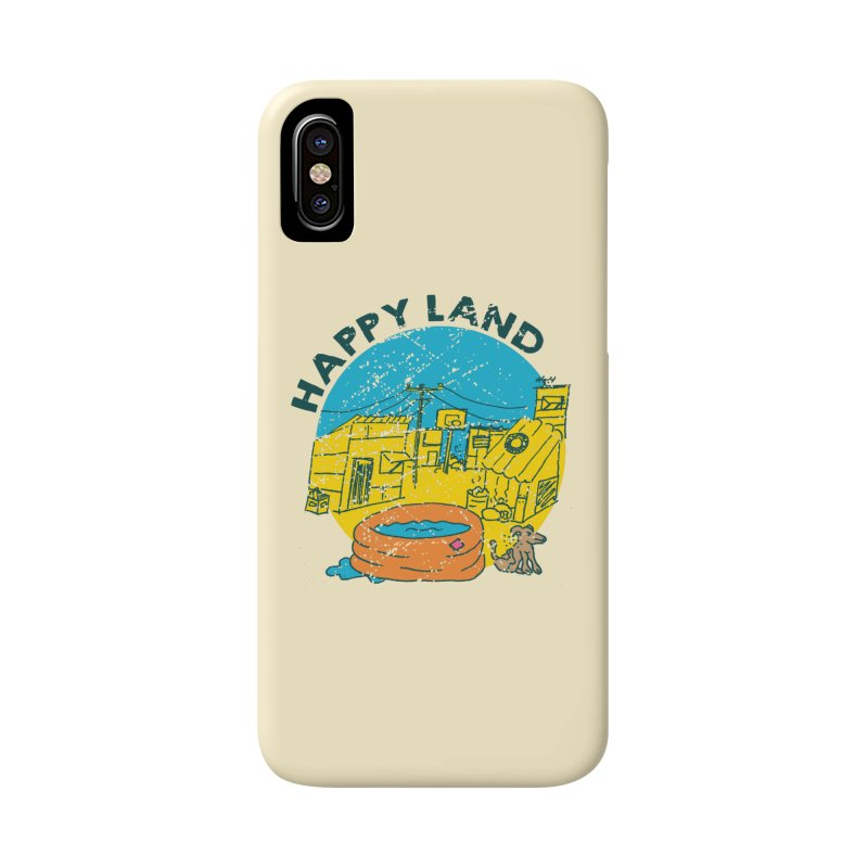 Happy Land Accessories Phone Case by Thirty Silver