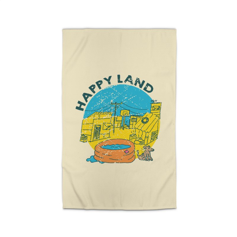 Happy Land Home Rug by Thirty Silver