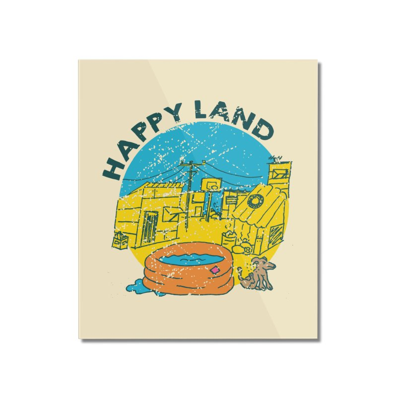 Happy Land Home Mounted Acrylic Print by Thirty Silver