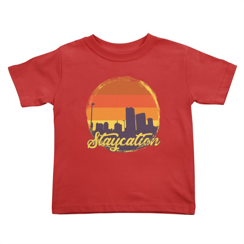 Staycation Kids Toddler T-Shirt by Thirty Silver