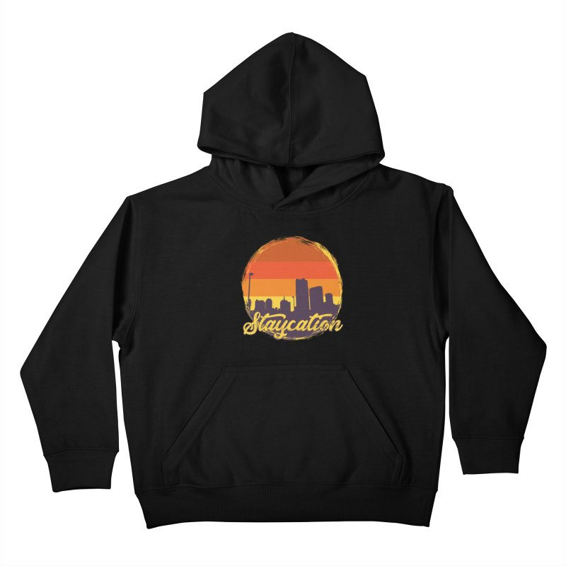 Staycation Kids Pullover Hoody by Thirty Silver