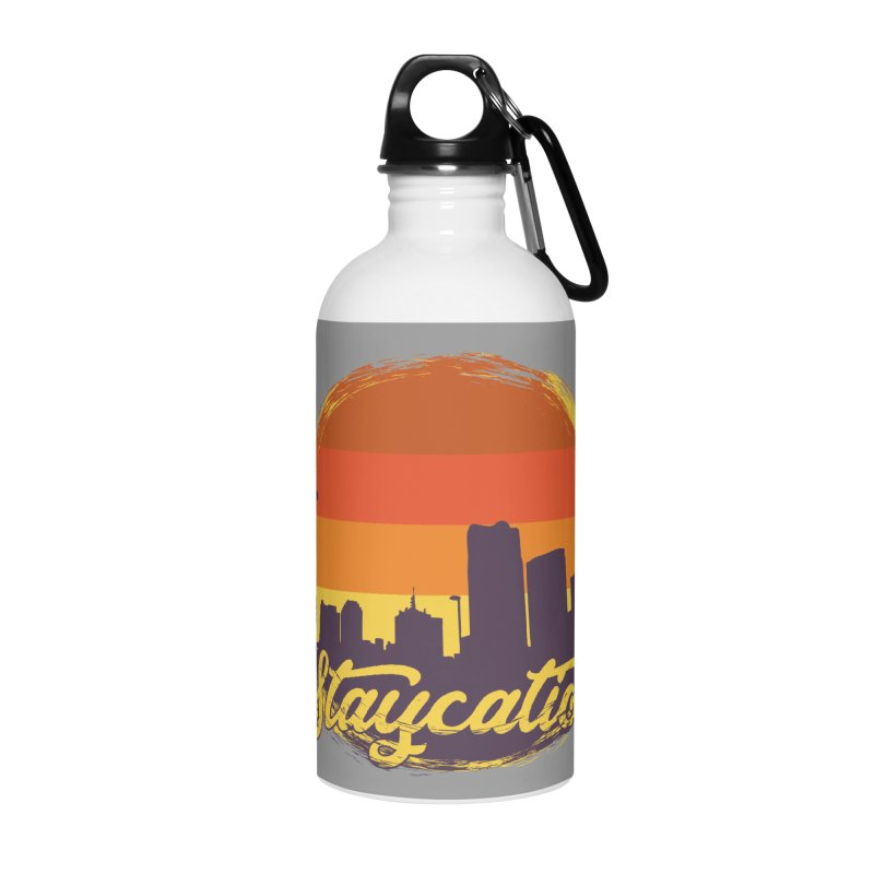 Staycation Accessories Water Bottle by Thirty Silver