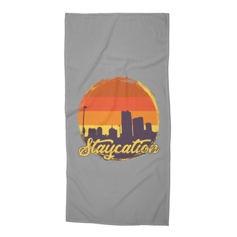 Staycation Accessories Beach Towel by Thirty Silver