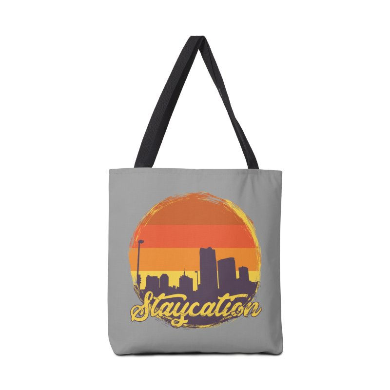 Staycation Accessories Tote Bag Bag by Thirty Silver