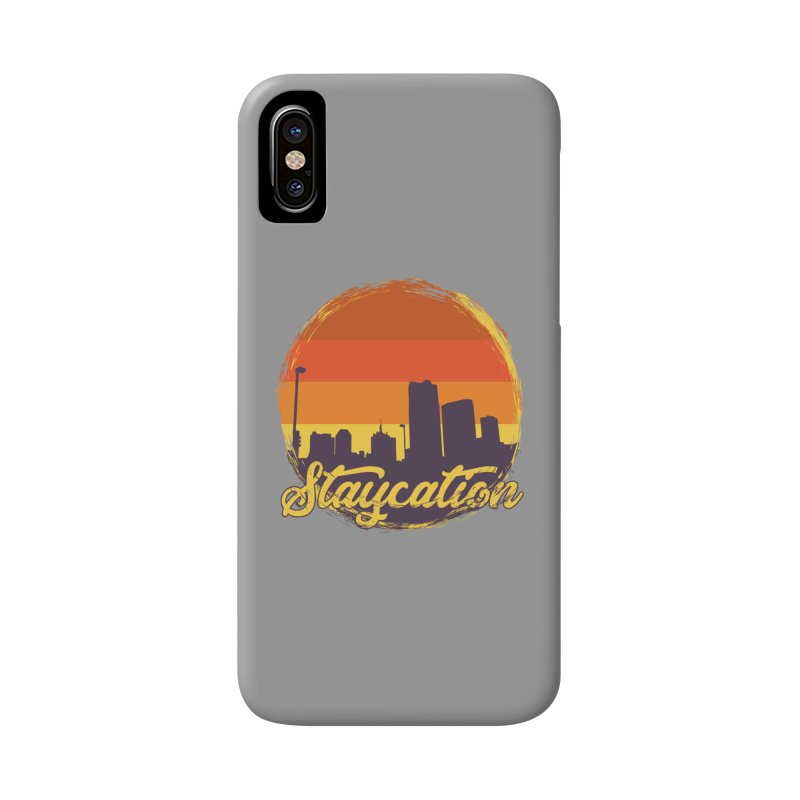 Staycation Accessories Phone Case by Thirty Silver